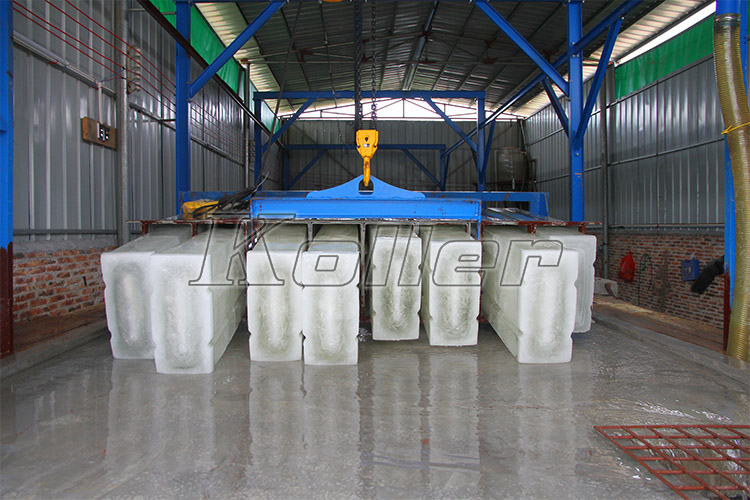 Large Ice Block Machine in Qingyuan, China