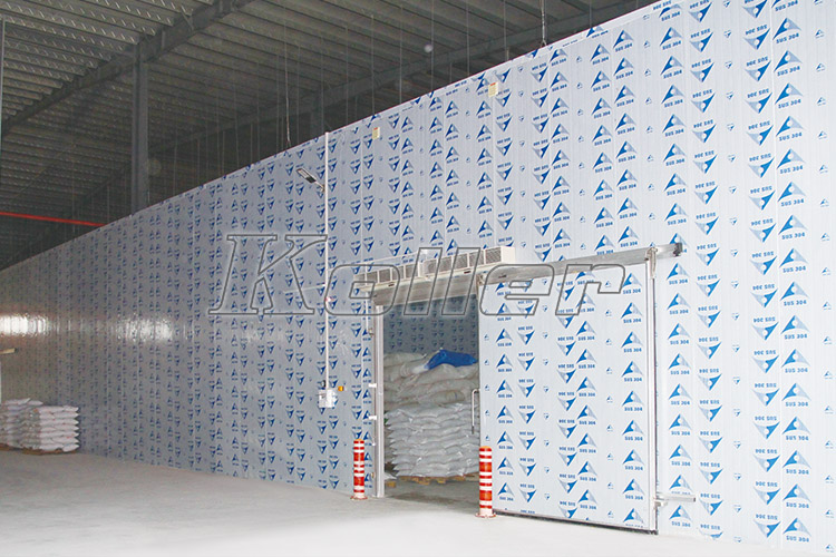Large Cold Room Project in Foshan, China