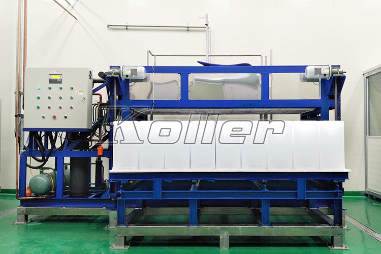 Direct Cooling Ice Block Machine in Korea